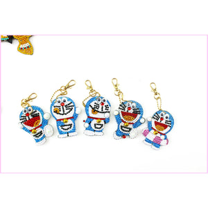 Doreamon - Diamond Key Chains - HEARTFUL DIAMONDS