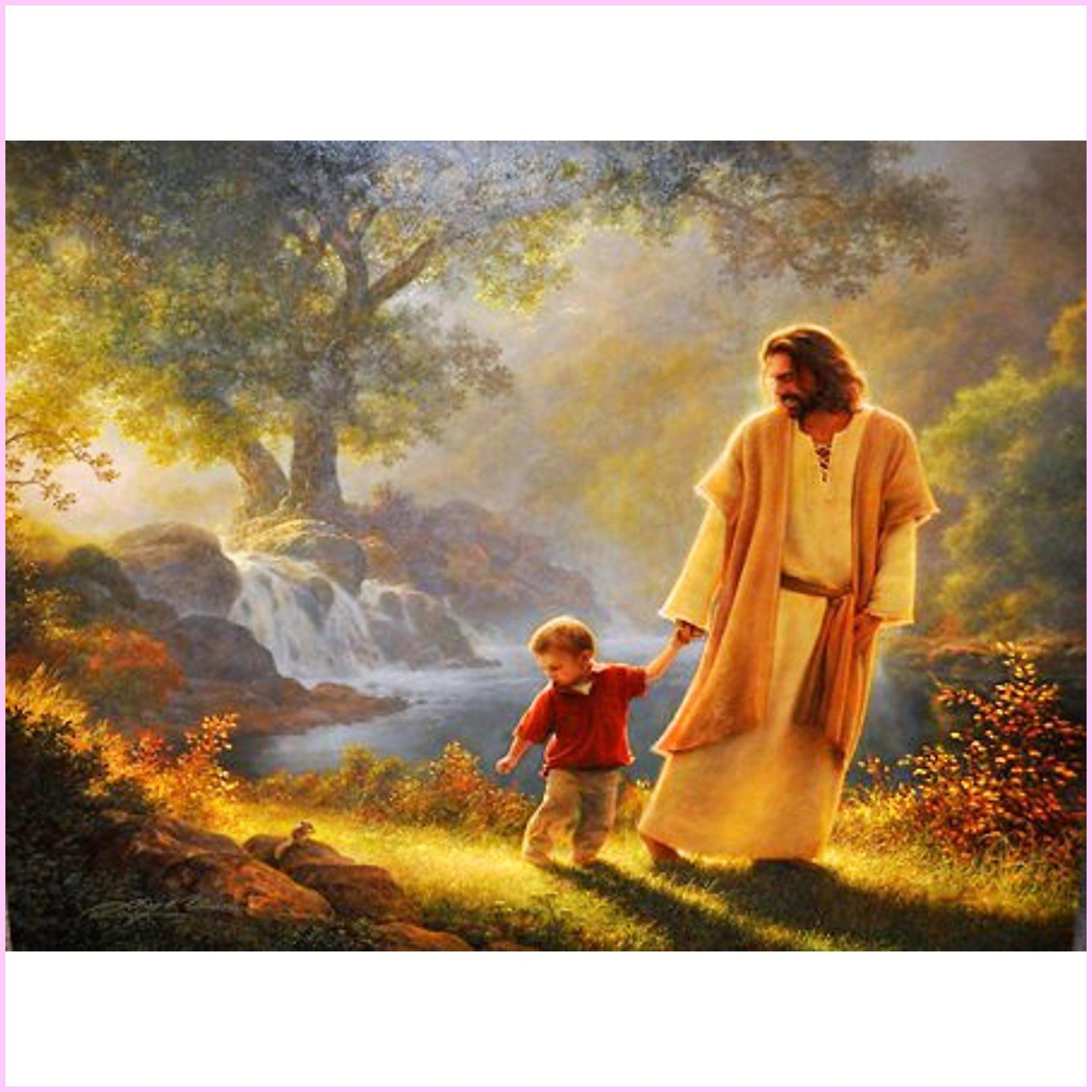 Leading the Innocent- Diamond Painting Kit-30x40cm (12x16 in)-Square-Heartful Diamonds