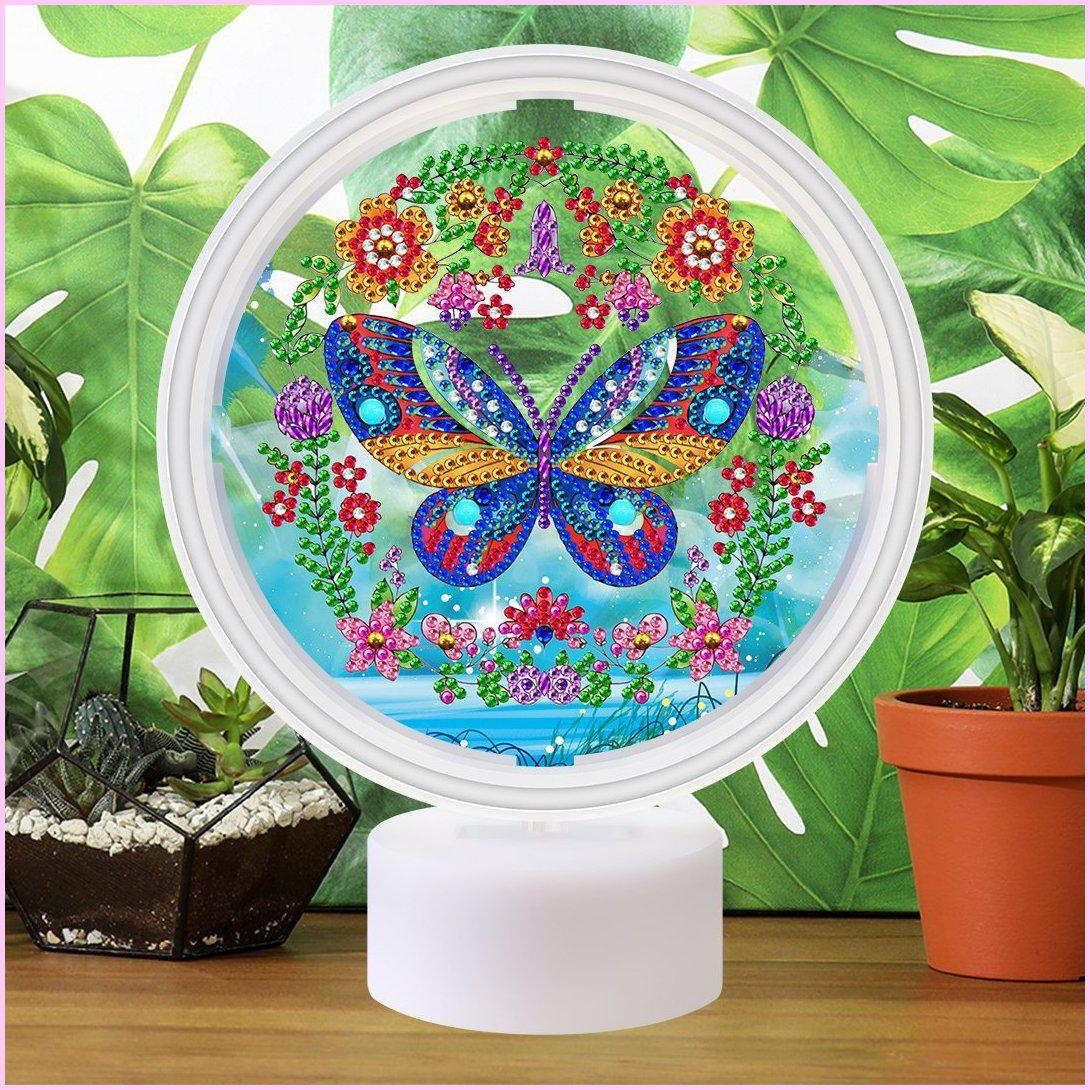 Flourishing Garden - 3D Night Light - Heartful Diamonds