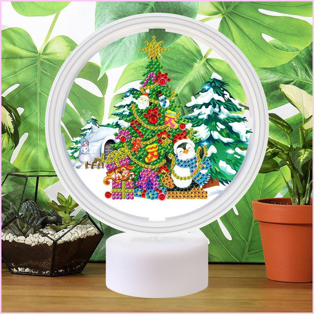 Christmas Tree - 3D Night Light - Heartful Diamonds
