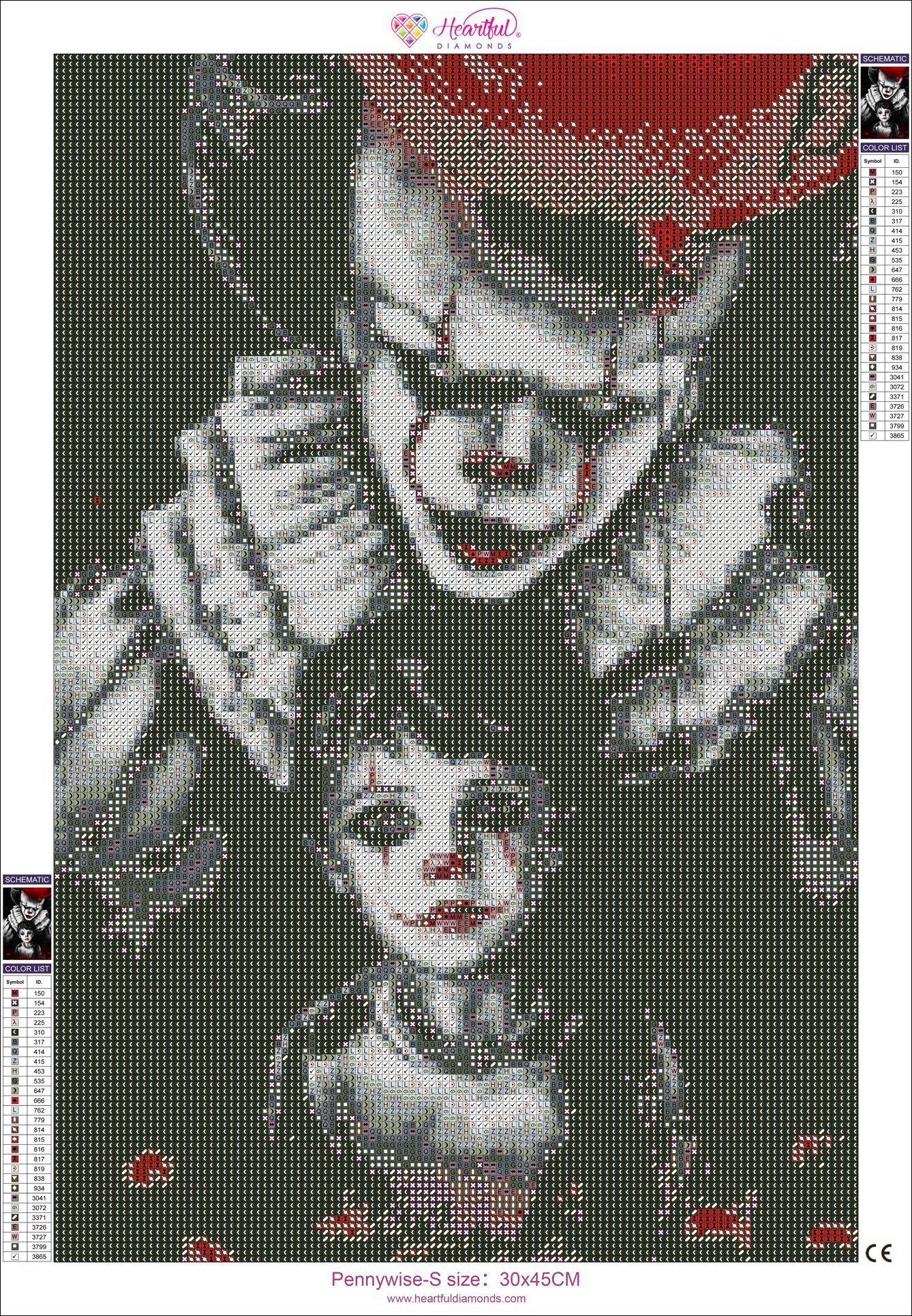 diamond painting pennywise