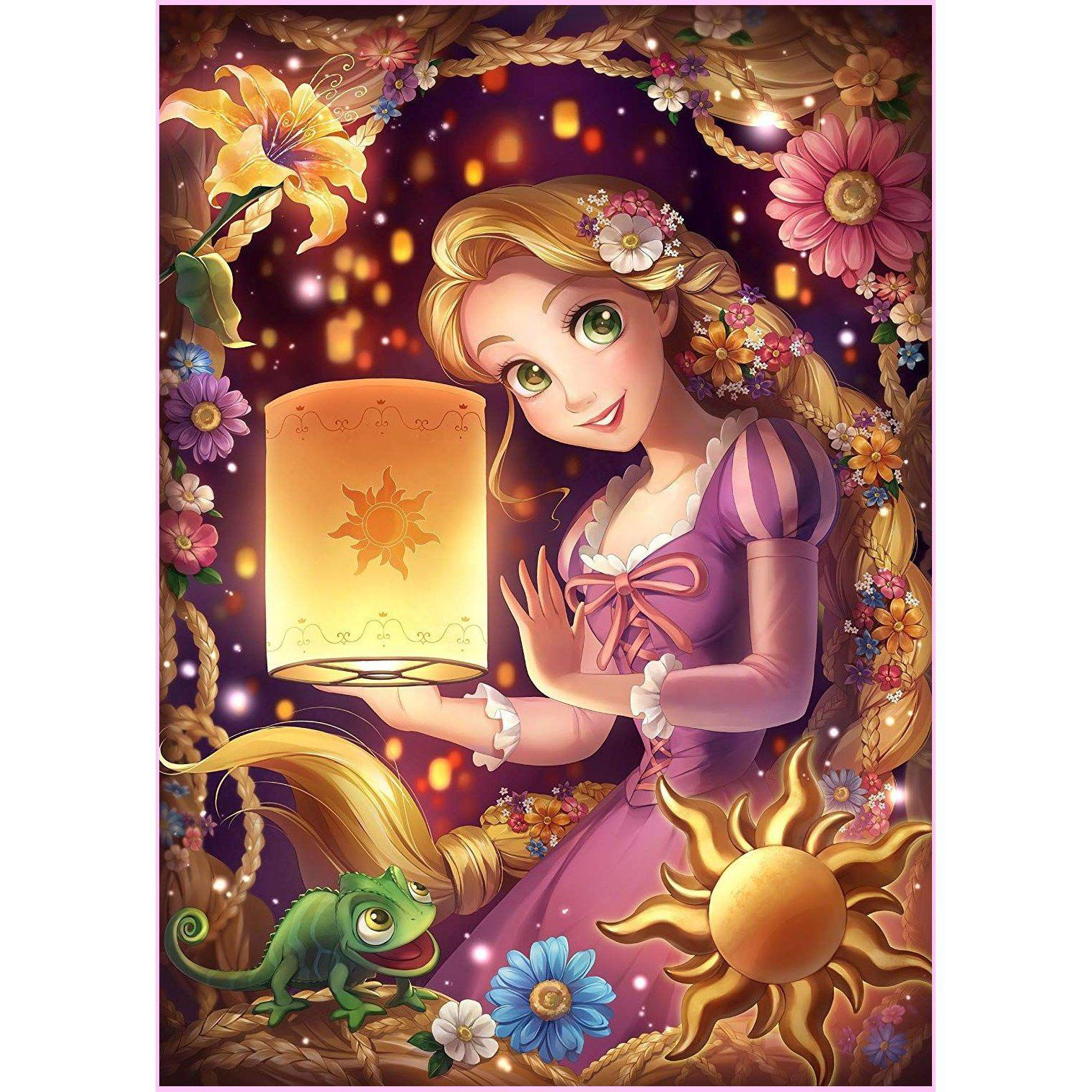 Let Down Your Hair-Diamond Painting Kit USPS-30x40cm (12x16 in)-Square-Heartful Diamonds