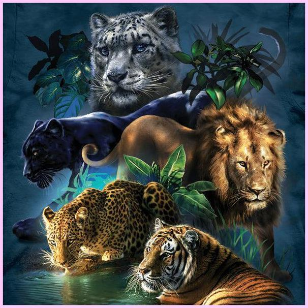 5 Greatest Big Cat Diamond Painting