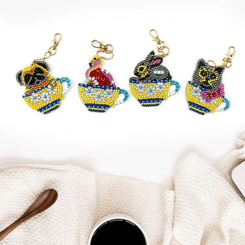 Cups of Surprise - Diamond Key Chains