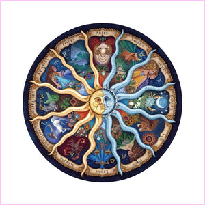 Zodiac Sphere-Diamond Painting Kit-30x40cm (12x16 in)-Square-Heartful Diamonds