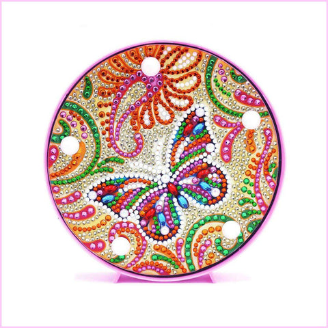 Image of Butterfly - Candy Butterfly-Marquee Light-Heartful Diamonds