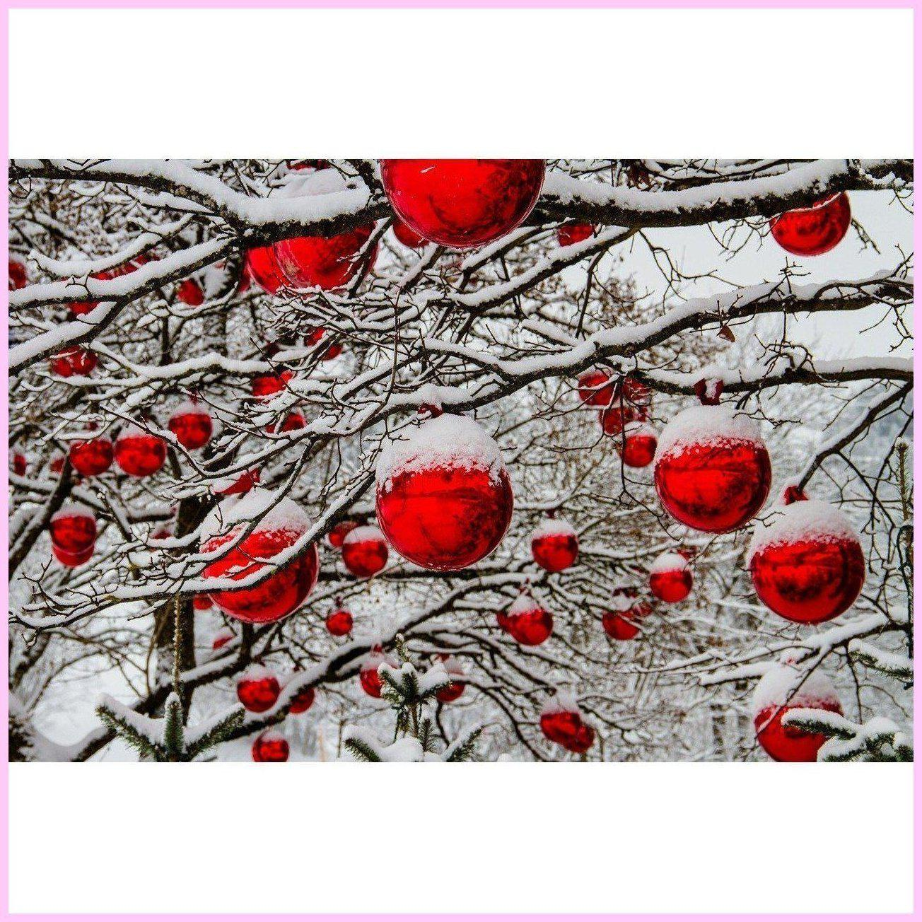 Christmas Balls-Diamond Painting Kit-25x40cm (10x16 in)-Square-Heartful Diamonds