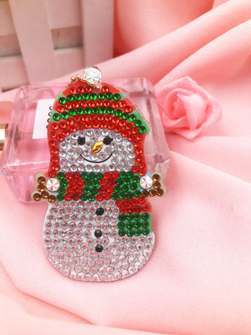 Image of Christmas Ornaments B - Diamond Key Chains-Key chain-Heartful Diamonds