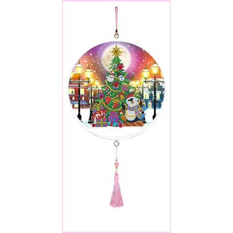 Christmas Tree - Large Hanging Decoration-Large Hanging Decoration-Heartful Diamonds