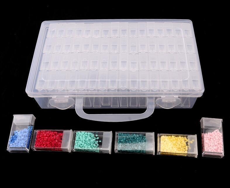 Compartment Diamond Painting Storage Case - 10, 24 or 64 pcs-Accessories-Heartful Diamonds