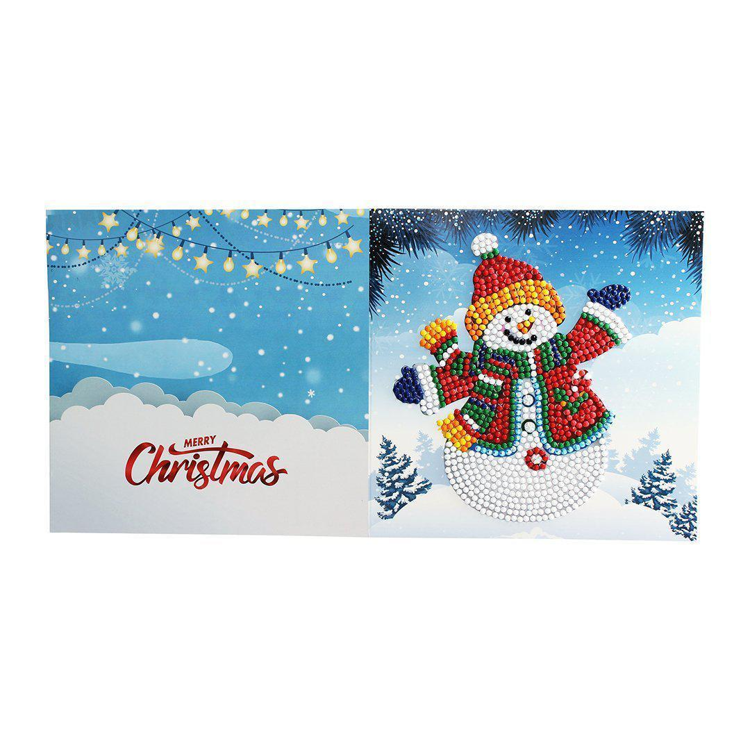 Diamond Christmas Cards - NEW 2019 Original Edition 1 (8 PACK)-Christmas Cards-8-Pack-Heartful Diamonds