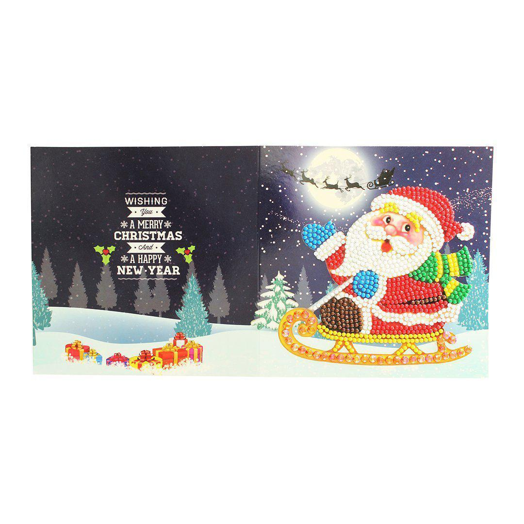 Diamond Christmas Cards - NEW 2019 Original Edition 3 (8 PACK)-Christmas Cards-8-Pack-Heartful Diamonds