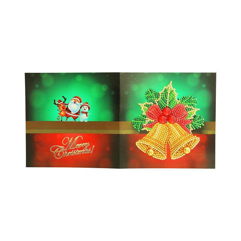Image of Diamond Christmas Cards - NEW 2019 Original Edition 3 (8 PACK)-Christmas Cards-8-Pack-Heartful Diamonds