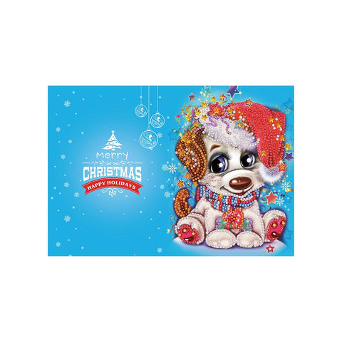 Diamond Christmas Cards - NEW 2019 Original Edition 4 (8 PACK)-Christmas Cards-8-Pack-Heartful Diamonds