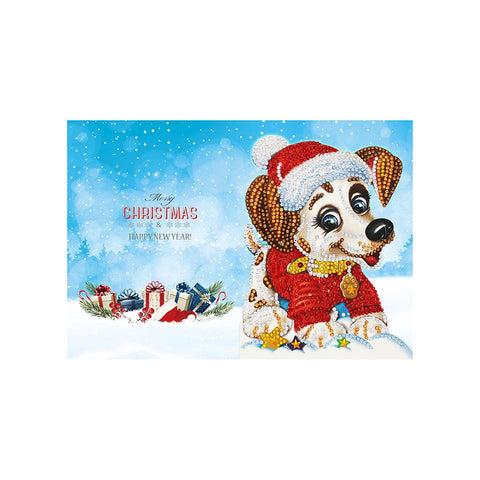 Diamond Christmas Cards - NEW 2019 Original Edition 5 (8 PACK)-Christmas Cards-8-Pack-Heartful Diamonds