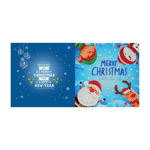 Image of Diamond Christmas Cards - NEW 2019 Original Edition 6 (8 PACK)-Christmas Cards-8-Pack-Heartful Diamonds