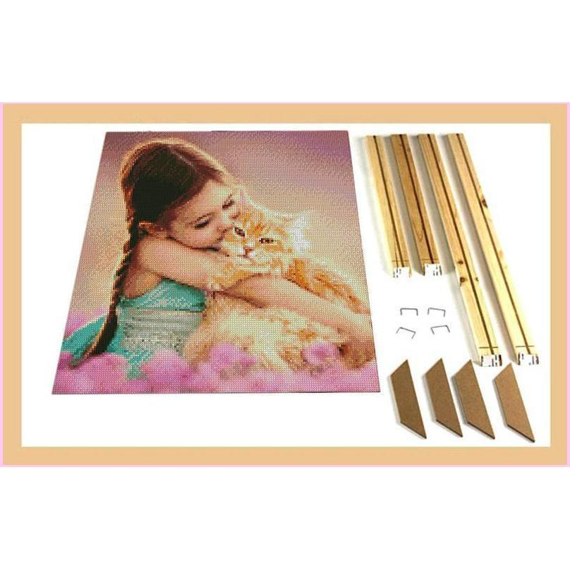 Diamond Painting Canvas Stretchers-Accessories-20x25cm (8x10 in)-Heartful Diamonds