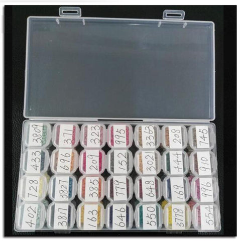 Image of Diamond Storage Box - 28 Removable Compartments-Accessories-28pcs-Heartful Diamonds