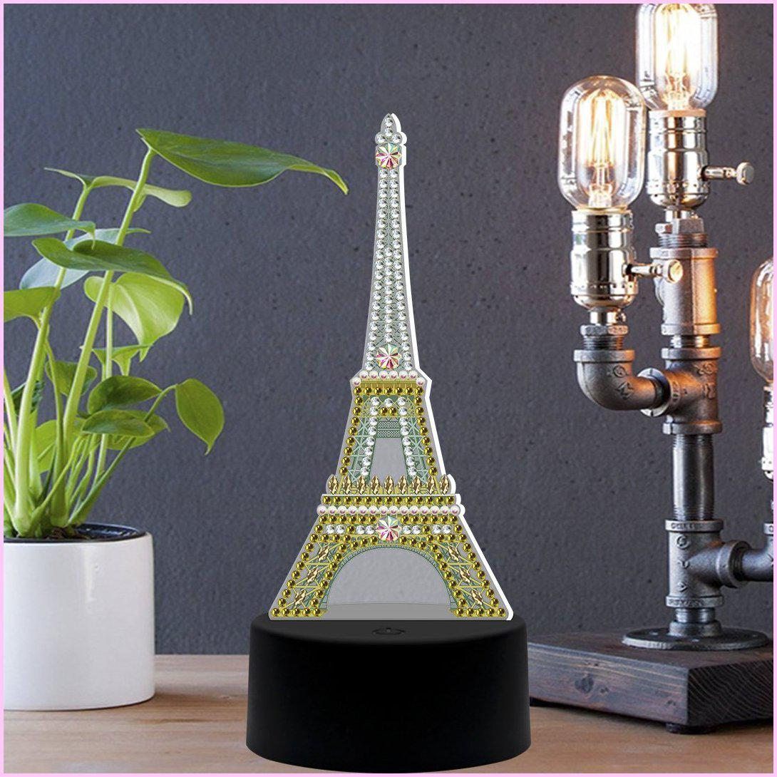 Eiffel Tower 3D Night Lamp-3D Night Lamp-Heartful Diamonds