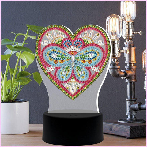 Eternal Love 3D Night Lamp-3D Night Lamp-Heartful Diamonds