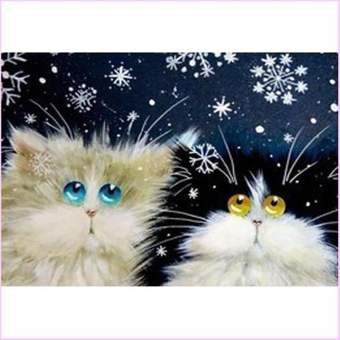 Image of Floofy Kittens - Starter Edition-Starter Kit-Floofy Kittens-20x30cm (8x12 in)-Heartful Diamonds