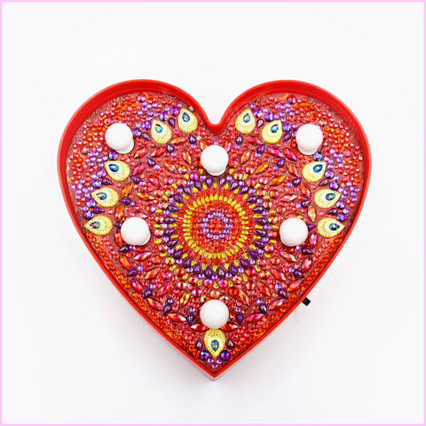 Heart - Valentine-Marquee Light-Heartful Diamonds