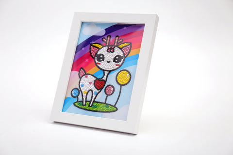 "Kids ""Pebbles"" Diamond Painting - Innocent Doe-Special Diamond Painting Kit-Heartful Diamonds"