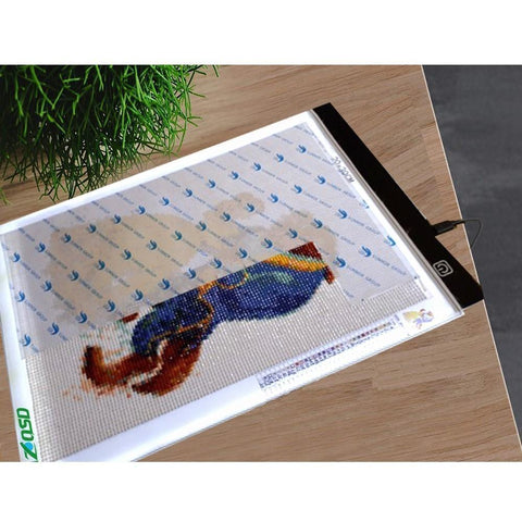 Image of LED Slim Light Pad for Diamond Painting-Accessories-Heartful Diamonds