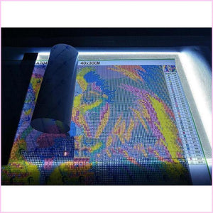 LED Slim Light Pad for Diamond Painting-Accessories-Heartful Diamonds