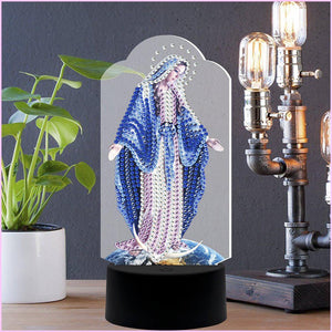 Mama Mary 3D Night Lamp-3D Night Lamp-Heartful Diamonds