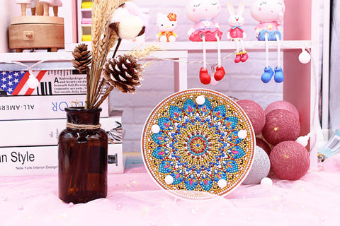 Image of Mandala - Exotic Tan-Marquee Light-Heartful Diamonds