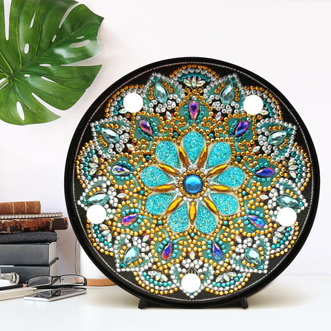 Image of Mandala - Golden Delight-Marquee Light-Heartful Diamonds