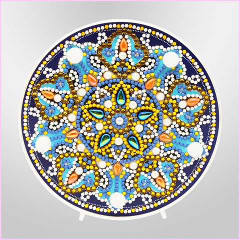 Image of Mandala - Midnight Lantern-Marquee Light-Heartful Diamonds