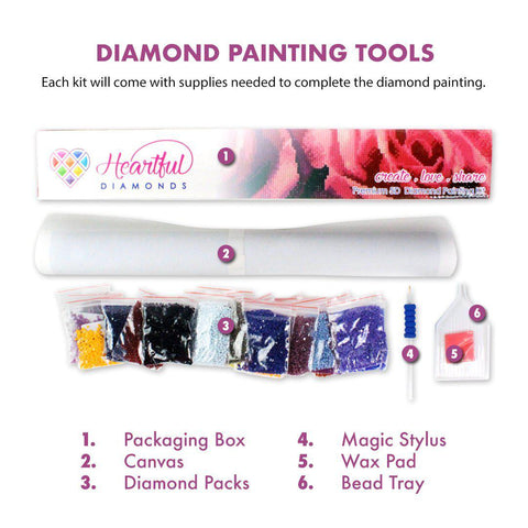 Mother of Dragons (CLEARANCE)-Diamond Painting Kit RSL-Heartful Diamonds