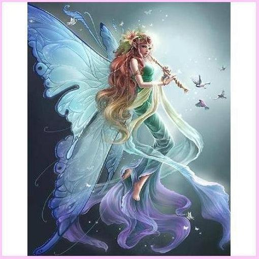 Mystical Fairy Collection - Nature-Diamond Painting Kit USPS-30x40cm (12x16 in)-Round-Heartful Diamonds