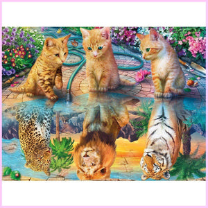 Our Longing Dreams-Diamond Painting Kit-30x40cm (12x16 in)-Square-Heartful Diamonds