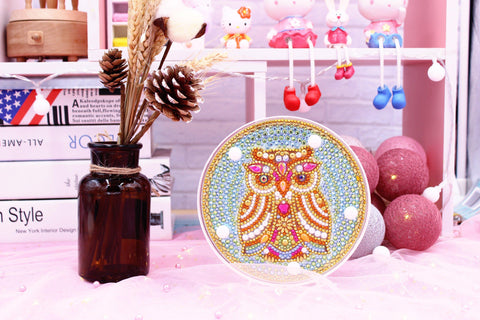 Image of Owl - Wise Icon-Marquee Light-Heartful Diamonds