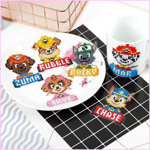 Paw Patrol - Diamond Art Anywhere Stickers-Anywhere Sticker-Heartful Diamonds