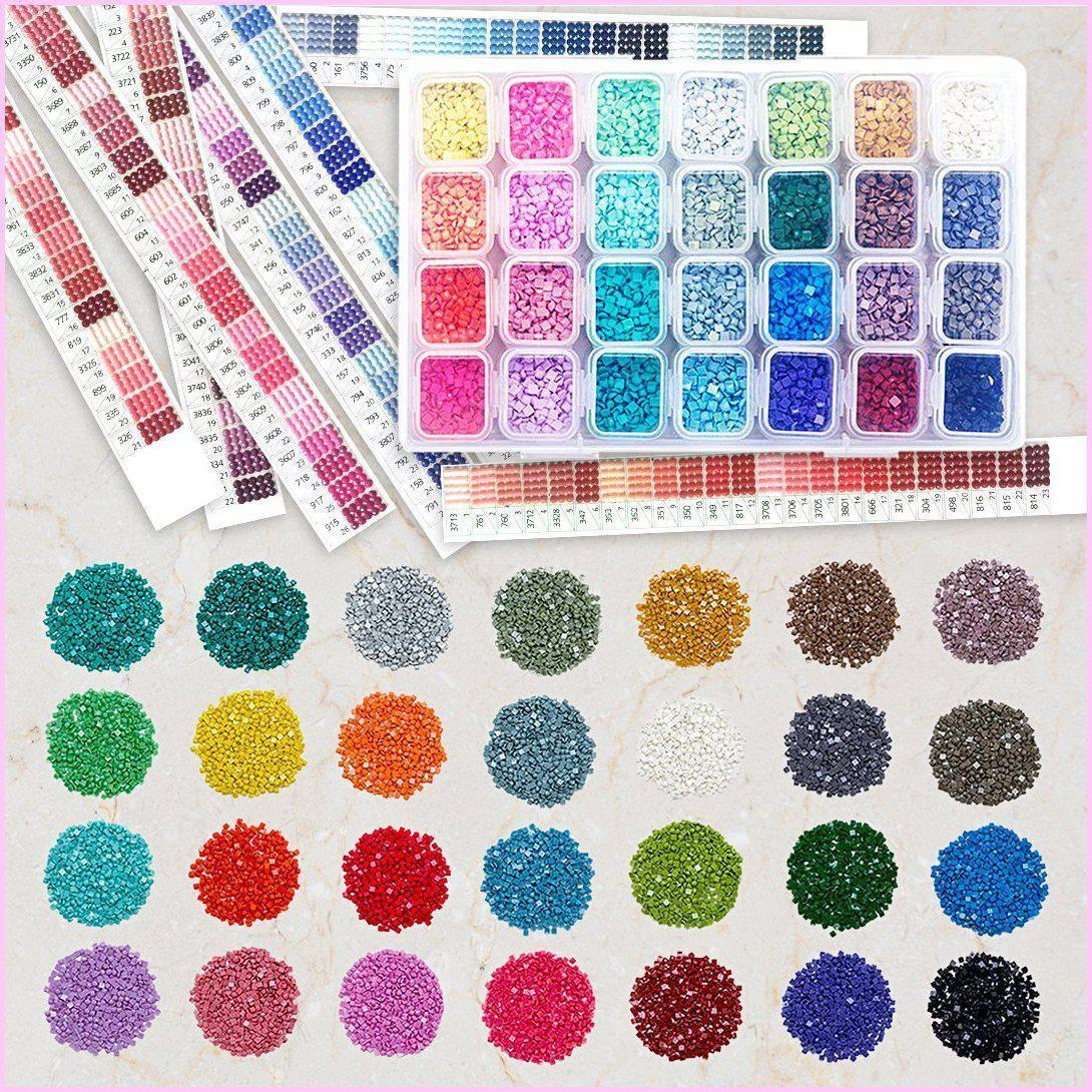 Sales for 1 Bag=200 Pieces 3713 Diamonds Round Rhinestone Resin Diamond Painting Accessory Wholesale 447 Colors Can Choose Color Accessory