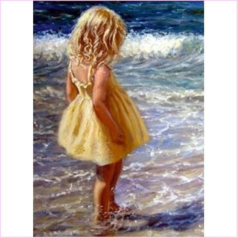 Image of Summer Girl - Starter Edition-Starter Kit-Summer Girl-20x30cm (8x12 in)-Heartful Diamonds