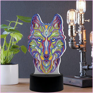 The Guardian 3D Night Lamp-3D Night Lamp-Heartful Diamonds