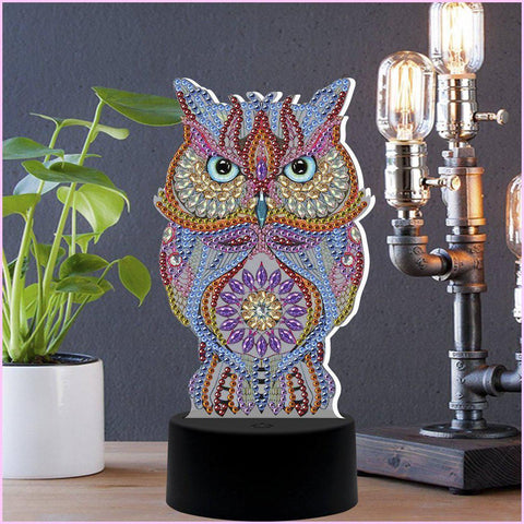 Image of The Watcher 3D Night Lamp-3D Night Lamp-Heartful Diamonds