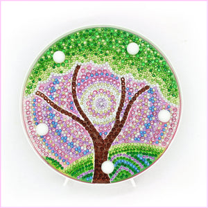 Tree - Green Spring-Marquee Light-Heartful Diamonds