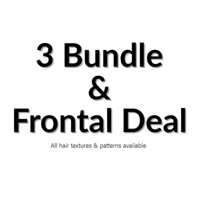 3 Bundle and Frontal Deal