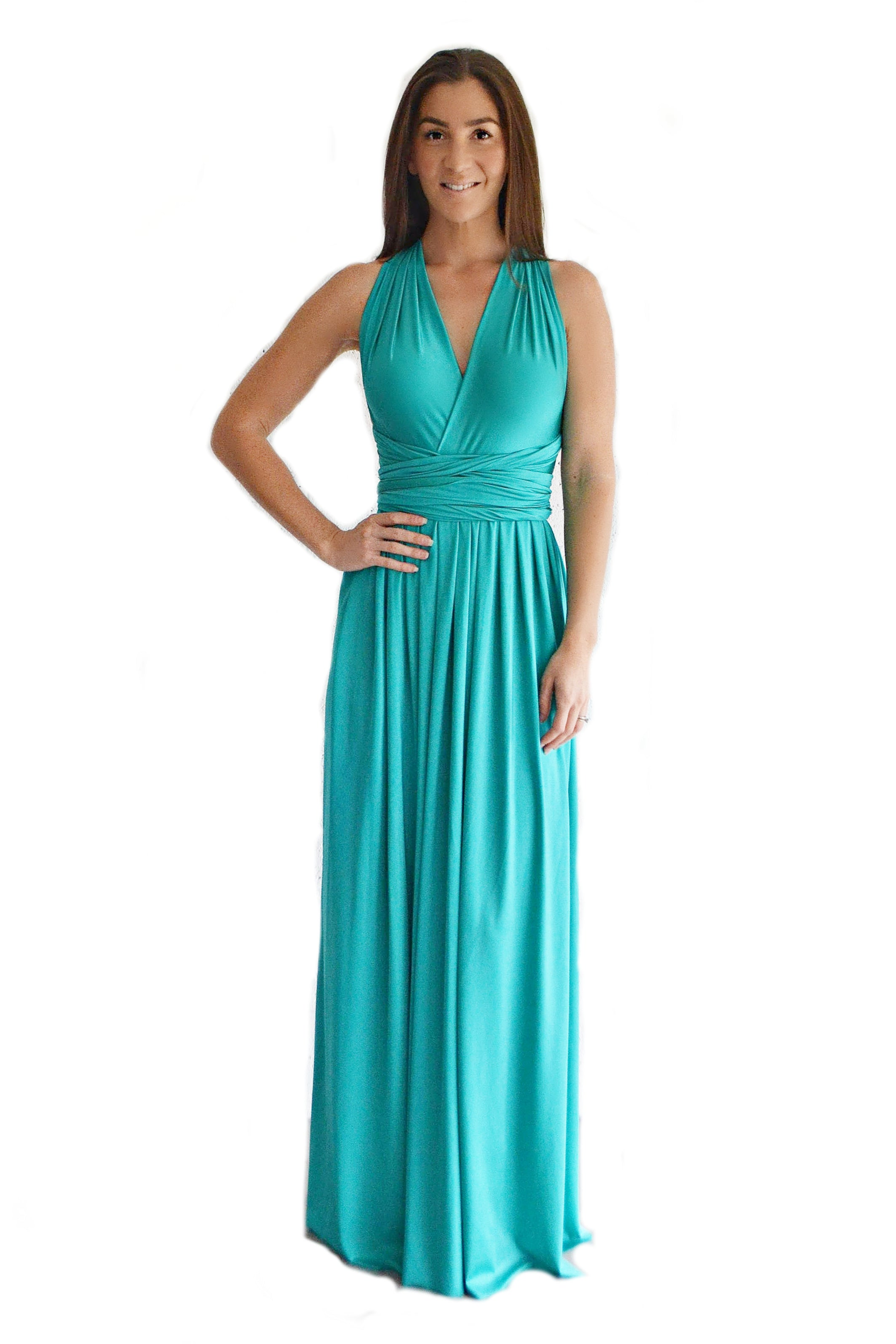 Quick Buy Convertible Pleated Maxi - Made by Erika Convertible Collection