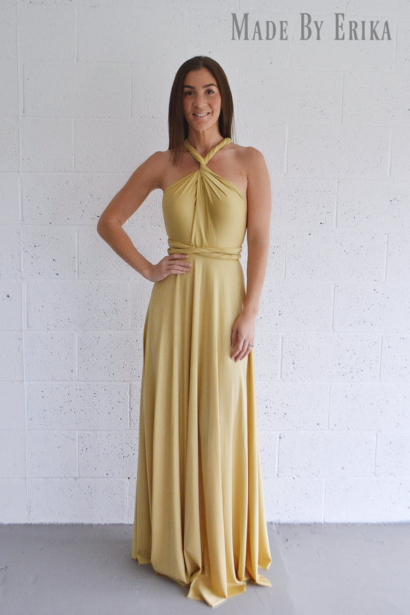 Maxi Convertible Dress - Made by Erika Convertible Collection