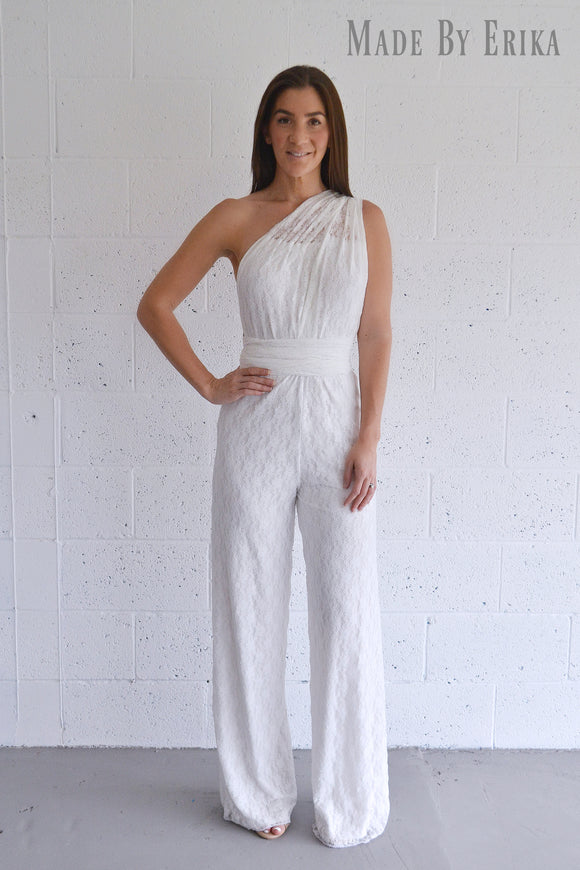 Full Lace Convertible Jumpsuit - Made by Erika Convertible Collection