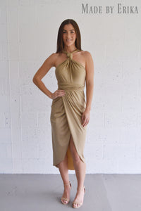 Draped Tulip Convertible Dress - Made by Erika Convertible Collection