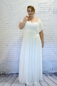 Maxi Full Lace Convertible Dress with Built in Bodice - Made by Erika Convertible Collection