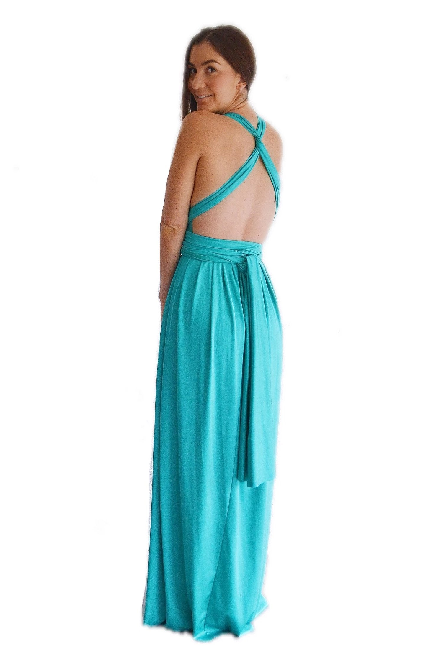 Quick Buy Convertible Pleated Maxi